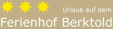 Ferienhof Berktold Logo